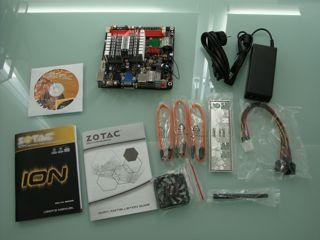 Zotac ION ITX A-E package