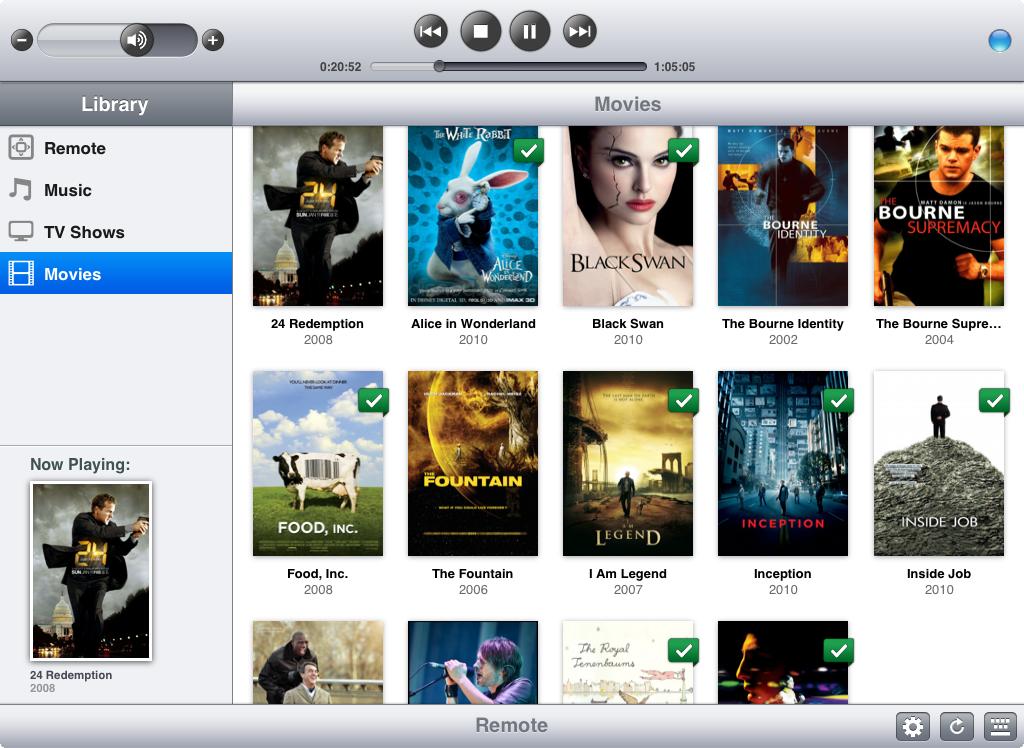 Movies on iOS 6