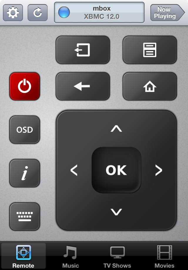 Remote controls on iOS 6