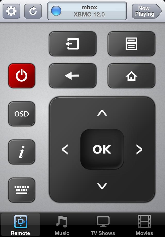 Remote controls on iOS 6