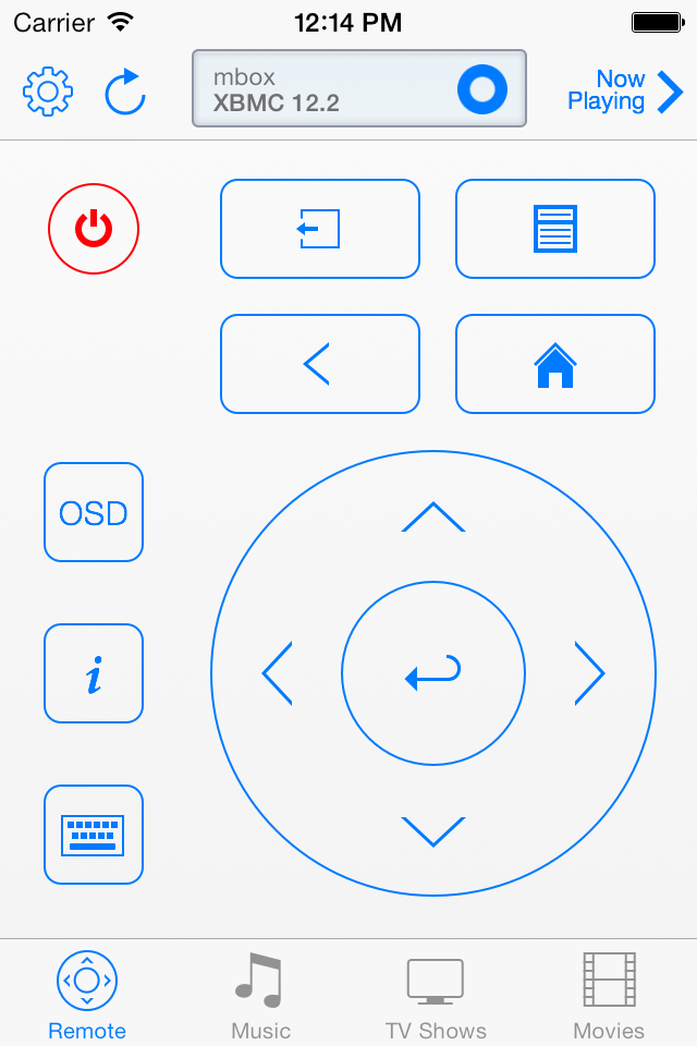 Remote controls on iOS 7